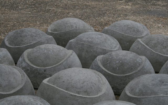 "Concrete, Individual Units 8"" x 8"" x 3 5/8"" 2011"