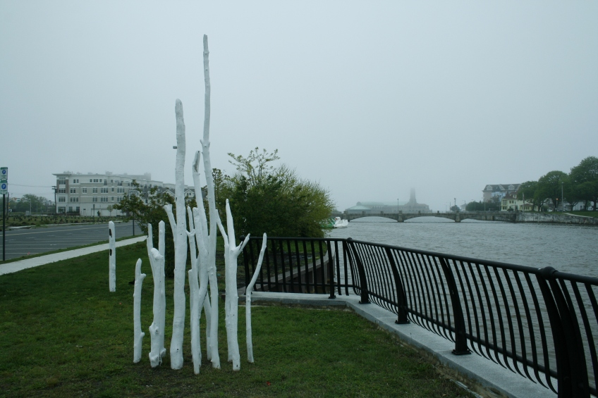 Painted Jersey Shore Drift Wood 6'L x 5'W x 12'H 2012